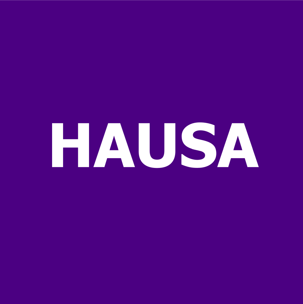 How widely spoken is the Hausa language?