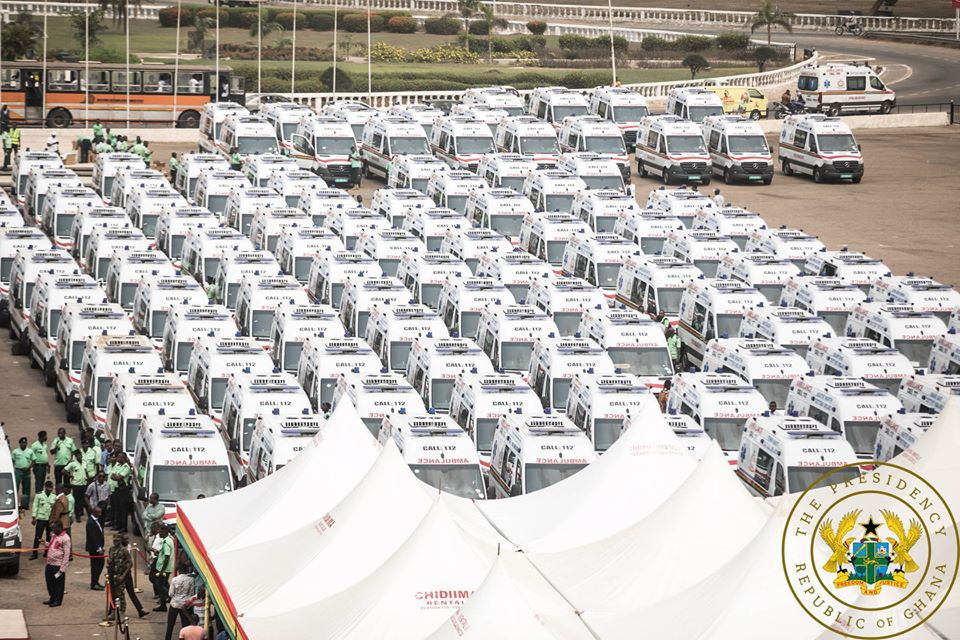 Commissioned and presented 307 brand new, state-of-the-art ambulances