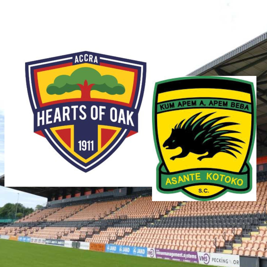 Accra Hearts of Oak and Asante Kotoko Rushing to get the Ticket for the Super Clash Game