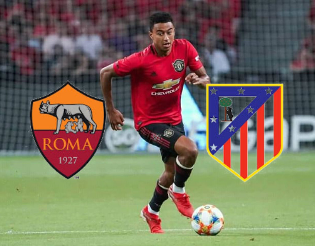 As Roma and Athletico Madrid are front runners for Jesse Lingard
