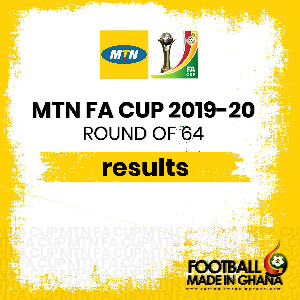 MTN FA CUP Round of 64 | 2019-2020 Season