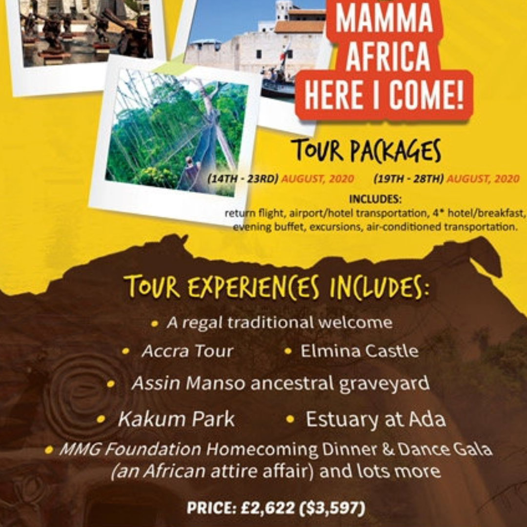 The 2nd Edition of the MMG Foundation Mamma Africa Here I Come
