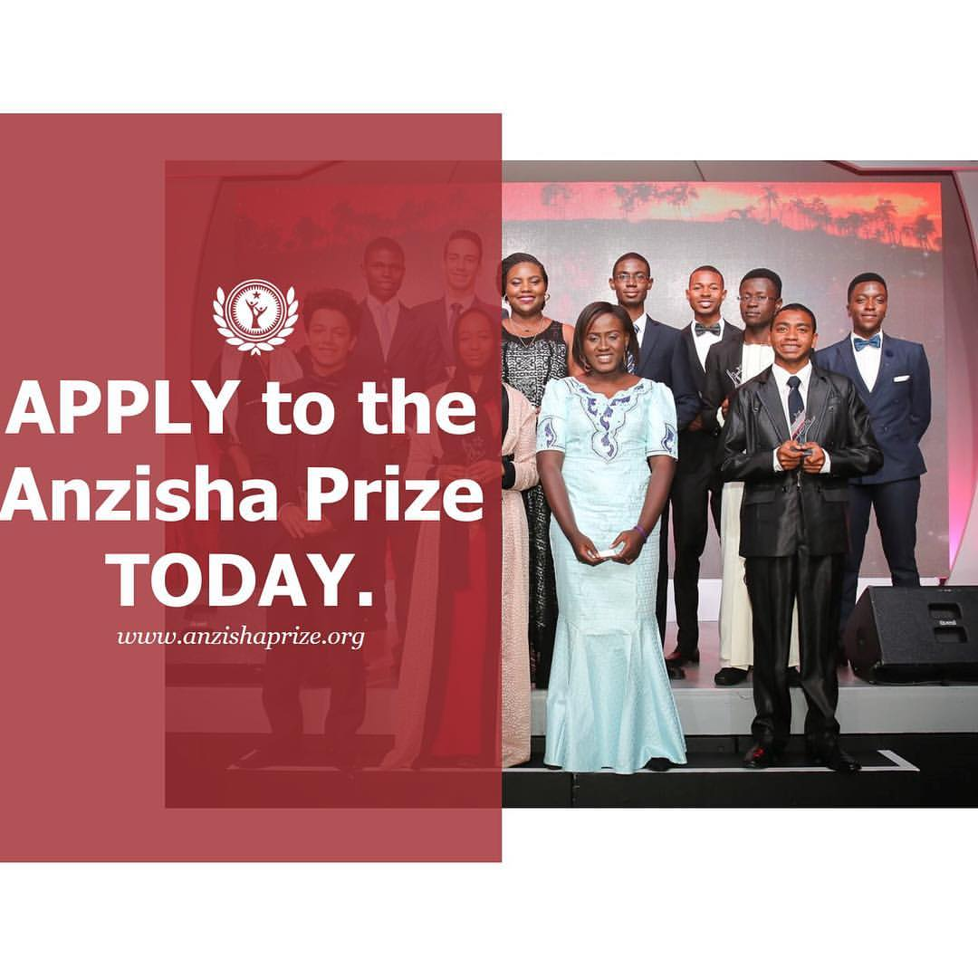 Anzisha Prize Fellows Nominate A Young African Role Model Now