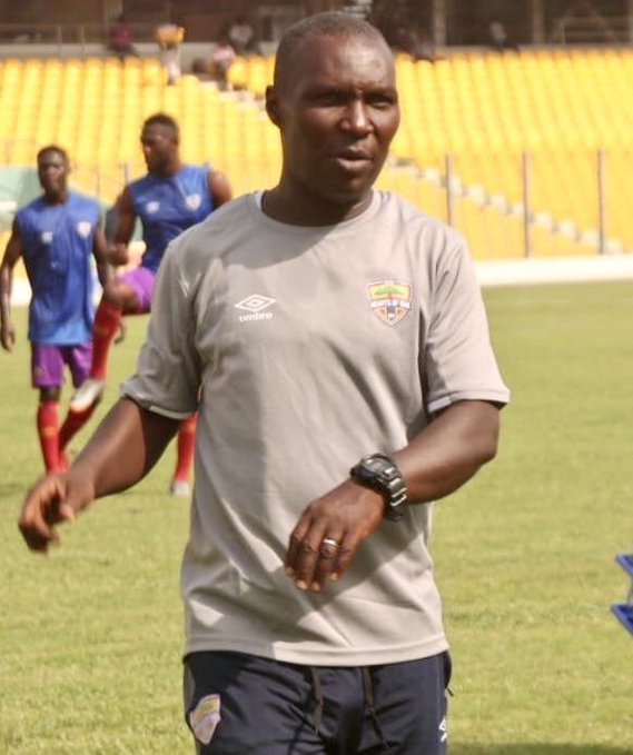 Head Coach of Phobians Edward Odoom Very Disappointed After Match
