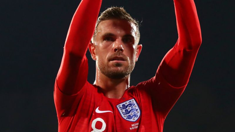 If you win any trophy and receive it without any fans there -Jordan Henderson