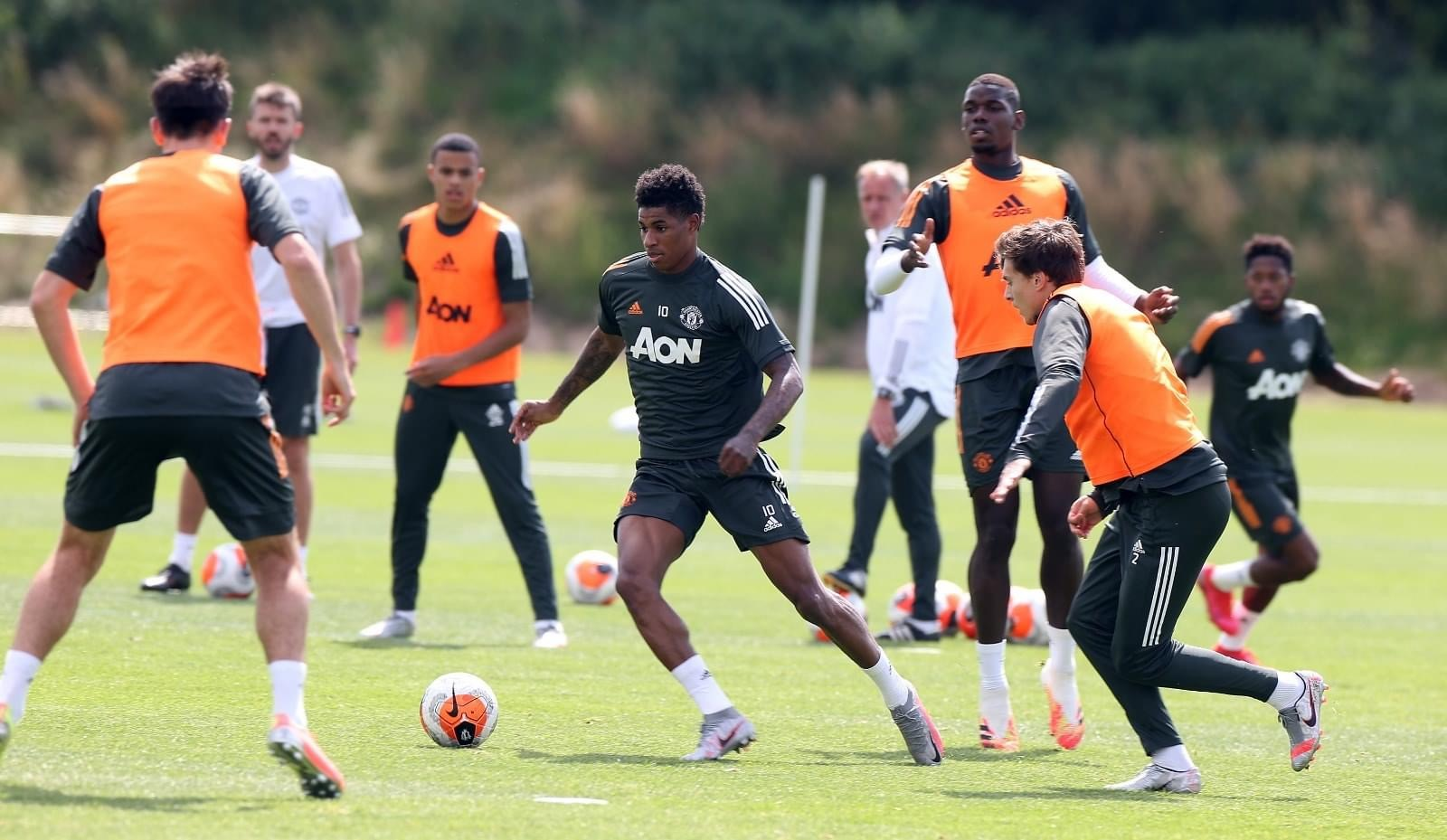 Focused and ready for Wednesday~Man-United