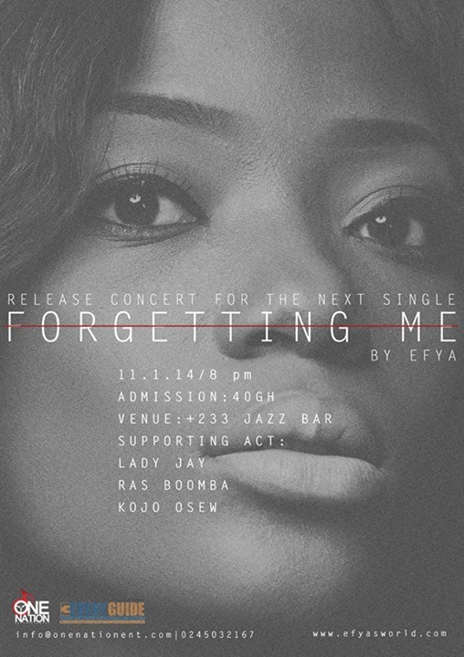 Efya – Forgetting Me | Audio Mp3 Download