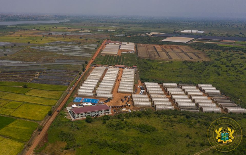 NPP Government commissioned biggest green village in Ghana