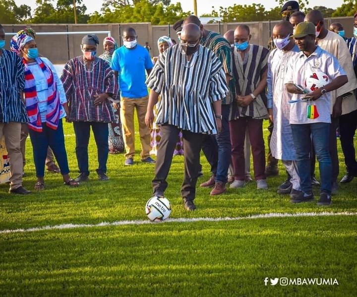 Akufo-Addo led Government since 2017