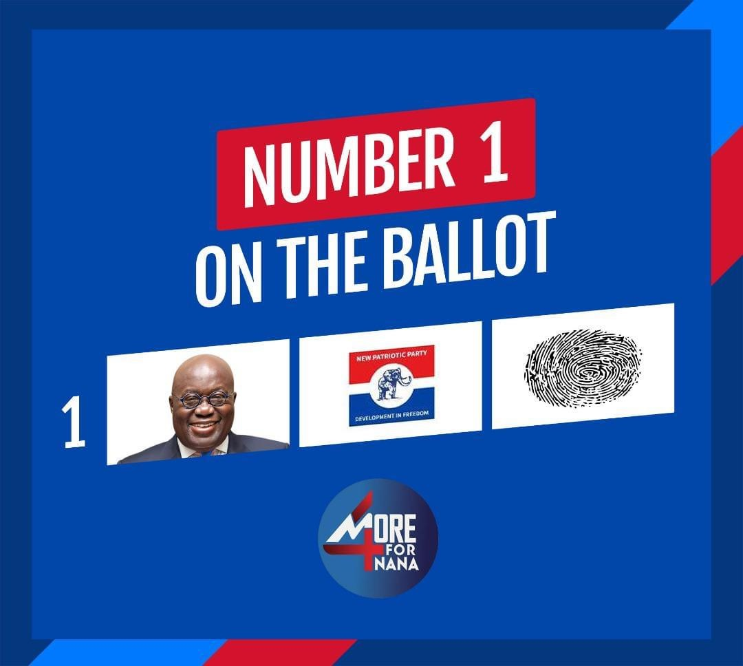 Vote for Akufo-Addo and the NPP