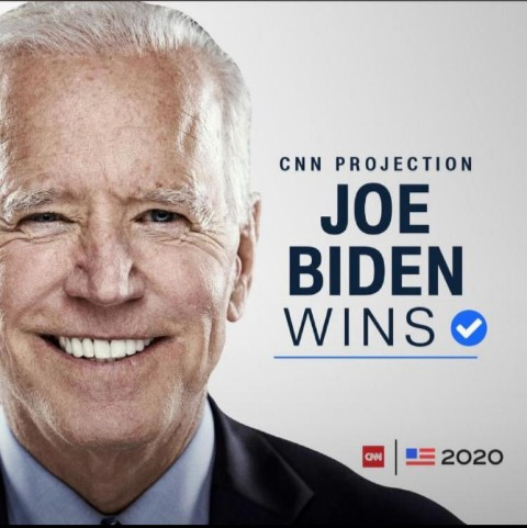 Biden Elected 46th US President
