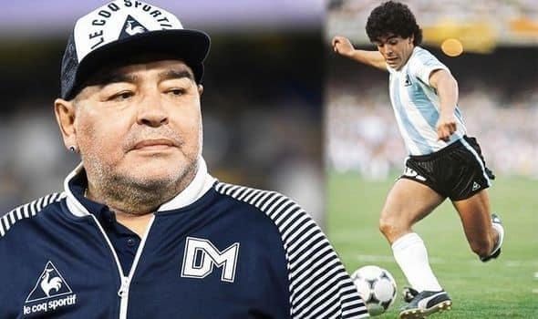 The death of this golden legend called Diego Maradona