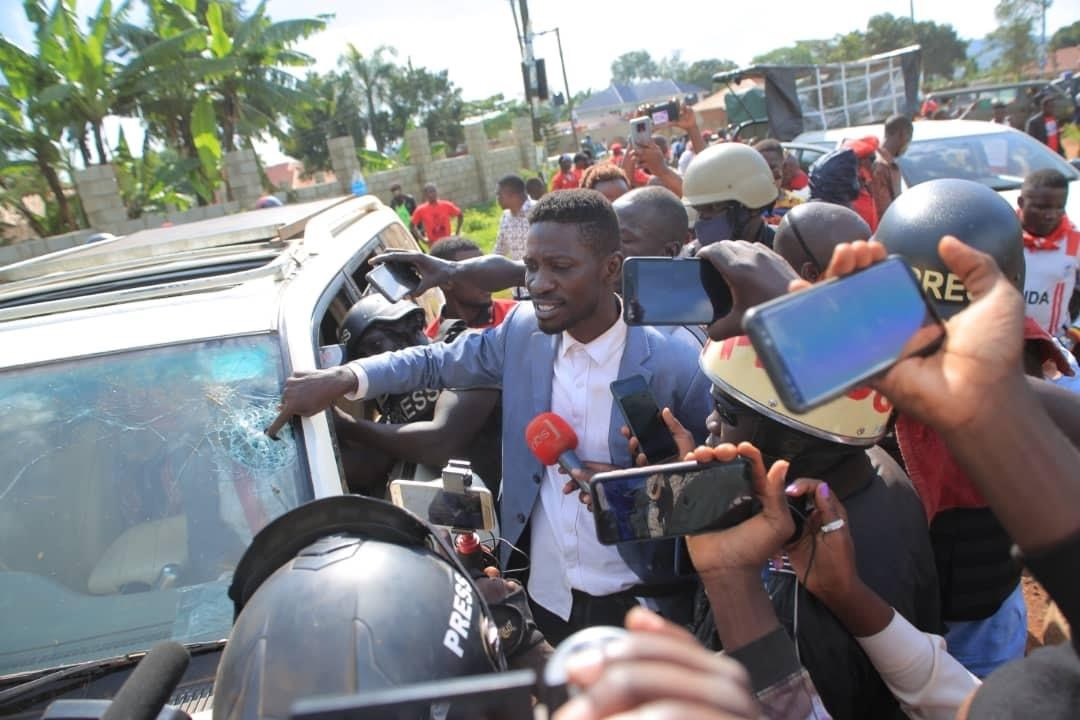 Bobi Wine Our lives are in great danger