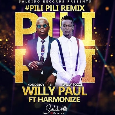 Willy Paul – PiliPili Ft. Harmonize Audio MP3 download