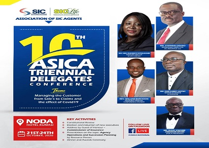 Association of SIC Agents (ASICA) held its 10th Triennial Delegates Conference