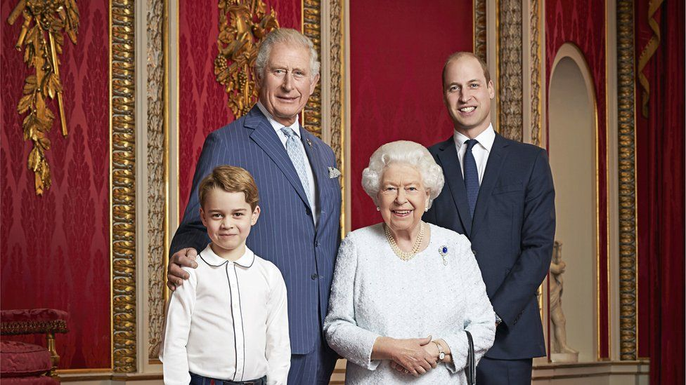 2021 Royal Family tree and line of succession