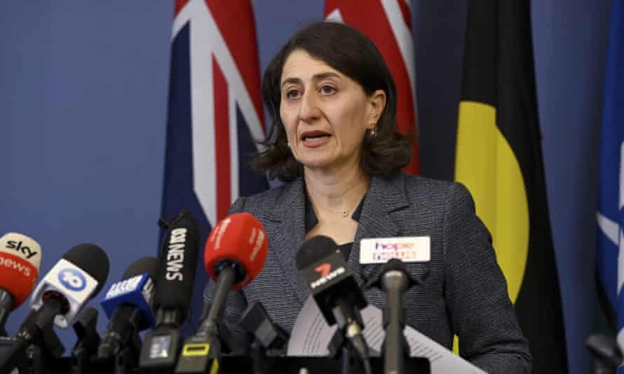 Why did Gladys have to resign
